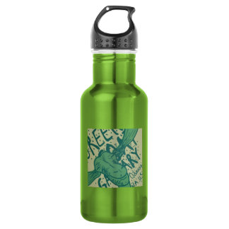 緑のヤギのギャラリー ウォーターボトル