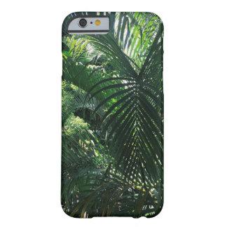 緑のヤシの木のiPhone 6/6sの箱 Barely There iPhone 6 ケース