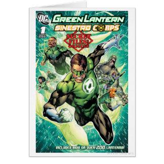緑のランタン-秘密ファイルおよび起源カバー カード