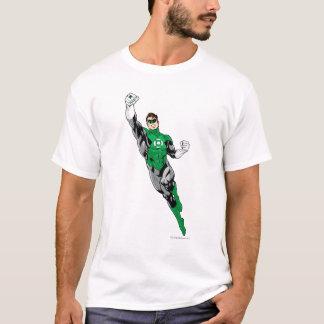 緑のランタン-飛びます Tシャツ