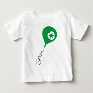 緑のリサイクル ベビーTシャツ