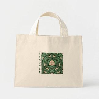 緑のリサイクル ミニトートバッグ