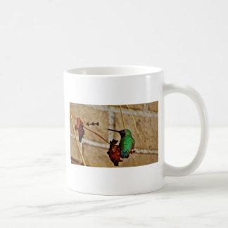 緑のルビー色のハチドリ コーヒーマグカップ