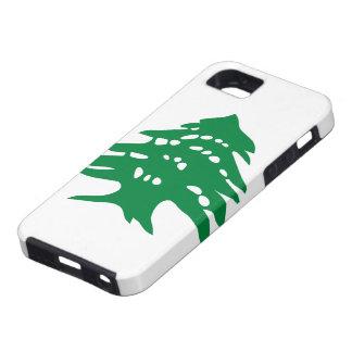 緑のレバノンのヒマラヤスギ木 iPhone SE/5/5s ケース