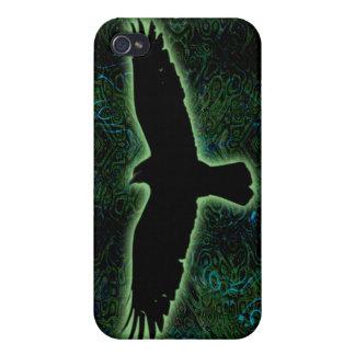 緑のワタリガラス iPhone 4 COVER