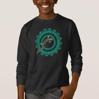 緑のワニ39の回状 Tシャツ