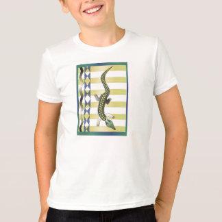 緑のワニ39 Tシャツ