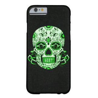 緑のヴィンテージのSkullyのスカルの死んだ頭部のパーティのスカル iPhone 6 ベアリーゼアケース