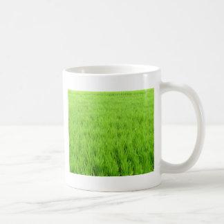 緑の世界の美しい コーヒーマグカップ