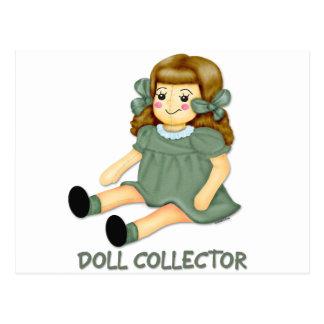 緑の人形 ポストカード