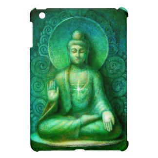 緑の仏の黙想の芸術のiPad Miniケース iPad Miniケース