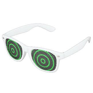 緑の円 レトロサングラス