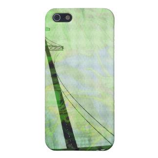 緑の写実的な嵐橋 iPhone 5 CASE