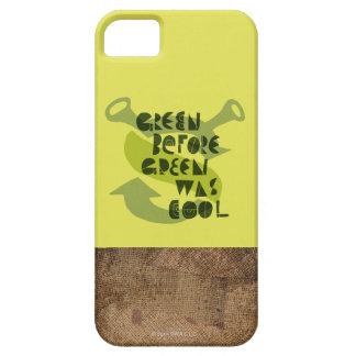 緑の前の緑はクールでした iPhone SE/5/5s ケース