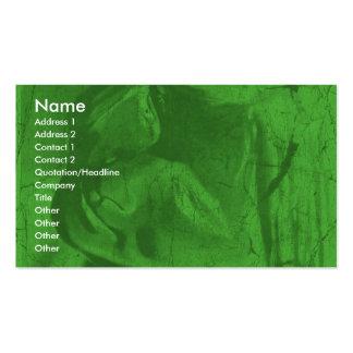 緑の反射Iの名刺 スタンダード名刺