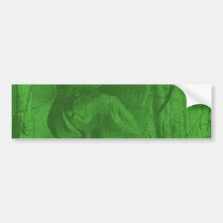 緑の反射IIのバンパーステッカー バンパーステッカー