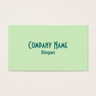 緑の名刺 名刺
