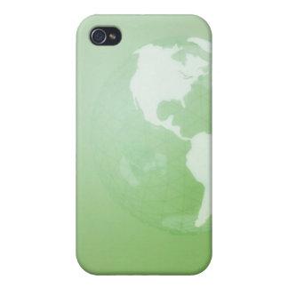緑の地球 iPhone 4/4S ケース