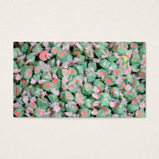 緑の塩水のタフィー 名刺
