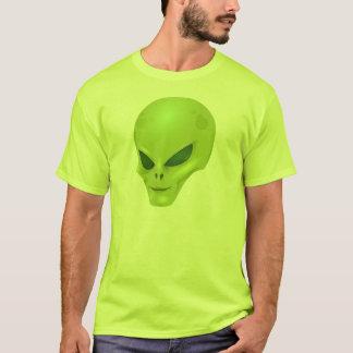 緑の外国のヘッドTシャツ Tシャツ