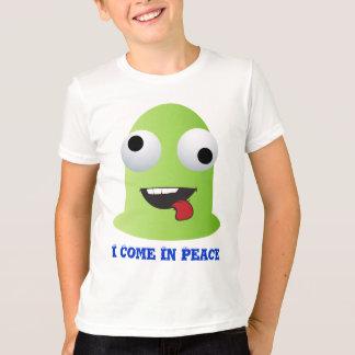 緑の外国モンスター Tシャツ
