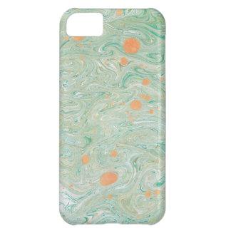 緑の大理石 iPhone 5C ケース