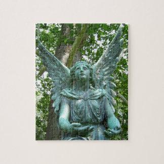 緑の天使のパズル ジグソーパズル