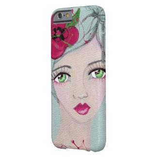 緑の女の子 BARELY THERE iPhone 6 ケース