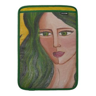 緑の女神の人力車の袖 MacBook スリーブ