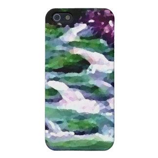 """""""緑の妖精の滝""""のCricketDianeの芸術 iPhone SE/5/5sケース"""