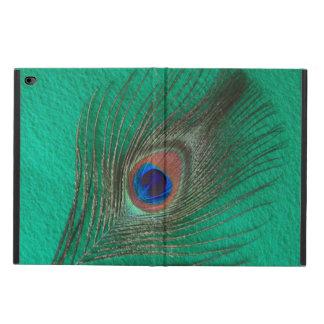 緑の孔雀の羽 POWIS iPad AIR 2 ケース