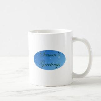 緑の季節の挨拶 コーヒーマグカップ