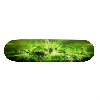 緑の宇宙 18.7CM ミニスケートボードデッキ