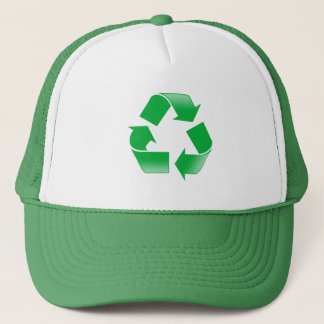 緑の帽子のリサイクル キャップ