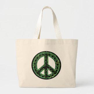 緑の平和 ラージトートバッグ