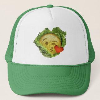 緑の幸運なアイルランドの旗のst patricks dayのemojiの帽子 キャップ