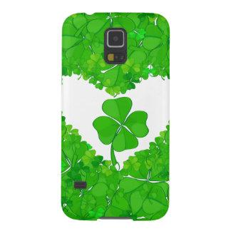 緑の幸運なシャムロック GALAXY S5 ケース