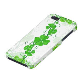 緑の幸運なシャムロック iPhone 5 CASE