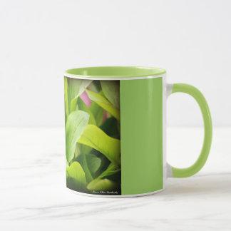 緑の庭のマグ マグカップ