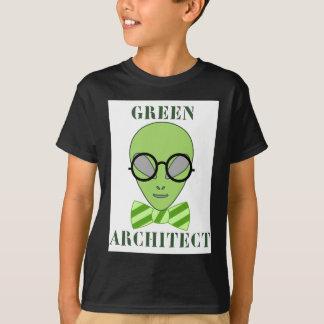 緑の建築家 Tシャツ