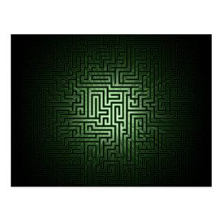 緑の当惑 ポストカード