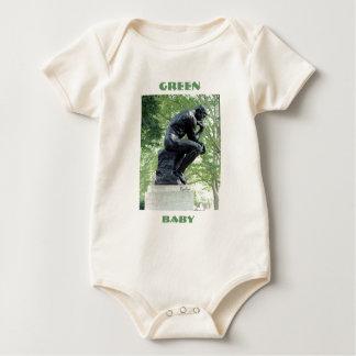 緑の思想家のベビー ベビーボディスーツ