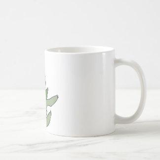 緑の怠惰 コーヒーマグカップ