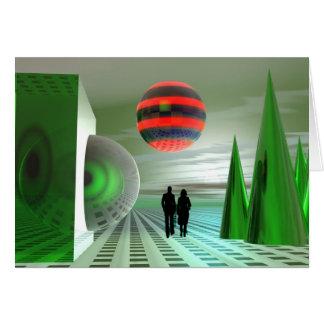 緑の惑星の探検 カード