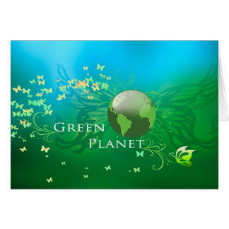 緑の惑星 カード