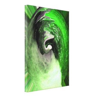 緑の惑星 キャンバスプリント
