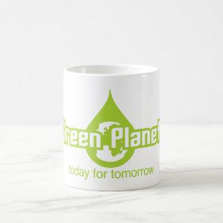 緑の惑星 コーヒーマグカップ