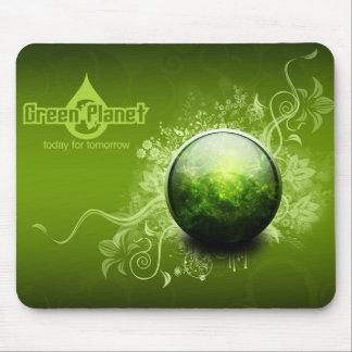 緑の惑星 マウスパッド