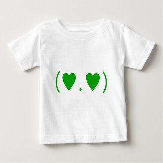 緑の愛 ベビーTシャツ