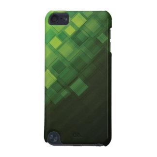 緑の抽象的な技術のデザイン iPod TOUCH 5G ケース